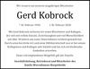Gerd Kobrock