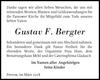 Gustav F. Bergter