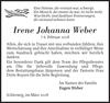 Irene Johanna Weber