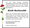 Ruth Bockwoldt