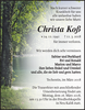 Christa Koß