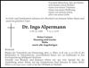 Dr. Ingo Alpermann