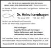 Dr. Heinz Isernhagen