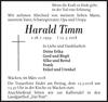 Harald Timm