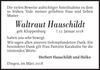 Waltraut Hauschildt