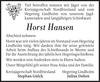 Horst Hansen