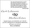 Gerti Lehmann Marlies Eeten