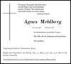 Agnes Mehlberg