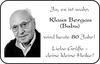 Klaus Bergau Bubu