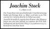 Joachim Stock