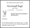 Gertrud Vogt
