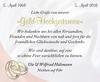 Gold-Hochzeitsreise