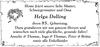 Helga Dolling