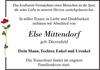Else Mittendorf