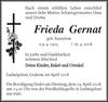 Frieda Gernat