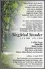 Siegfried Stender