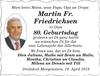 Martin Fr. Friedrichsen