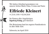 Elfriede Kleinert