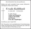 Ursula Kuhblank