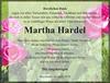 Martha Hardel