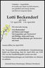 Lotti Beckendorf