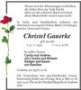 Christel Gauerke