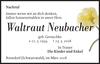 Waltraut Neubacher