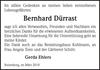 Bernhard Dürrast