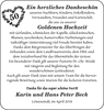 Karin und Hans Peter Beck