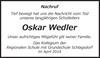 Oskar Wedler