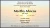 Martha Ahrens