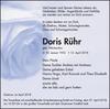Doris Rühr