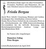 Frieda Bergau