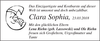 Clara Sophia