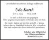 Udo Korth