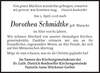 Dorothea Schmidtke