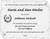 Karin und Uwe Weckes