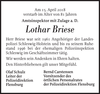 Lothar Briese