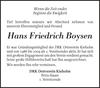 Hans Friedrich Boysen