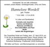 Hannelore Wordell