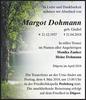 Margot Dohmann