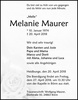Melanie Maurer