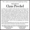 Claus Prechel