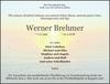 Werner Brehmer