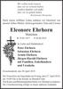 Eleonore Ehrhorn