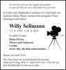 Willy Sellmann