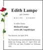 Edith Lampe