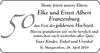 Elke und Ernst Albert Franzenburg