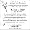 Klaus Gebert