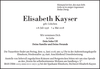 Elisabeth Kayser